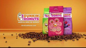 Dunkin' Donuts Coconut Ground Coffee TV Spot
