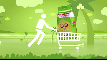 Dunkin' Donuts Coconut Ground Coffee TV Spot - Thumbnail 2
