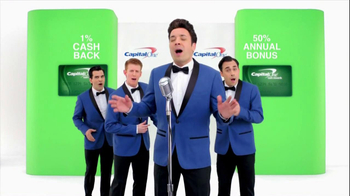 Capital One TV Spot, '50% More' Featuring Jimmy Fallon - 329 commercial airings