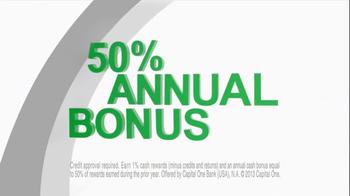 Capital One TV Spot, '50% More' Featuring Jimmy Fallon - Thumbnail 8