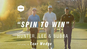 Ping Wedge TV Spot, 'Gorge Grooves' Featuring Bubba Watson, Lee Westwood - Thumbnail 1
