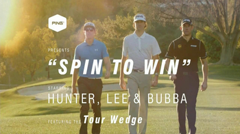 Ping Wedge TV Spot, 'Gorge Grooves' Featuring Bubba Watson, Lee Westwood - Thumbnail 2