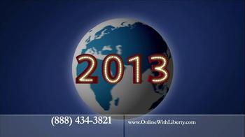 Liberty University Online TV Spot, '2013 Globe'
