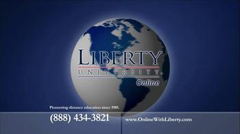 Liberty University Online TV Spot, '2013 Globe' - Thumbnail 4