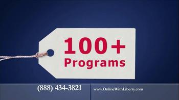 Liberty University Online TV Spot, '2013 Globe' - Thumbnail 8