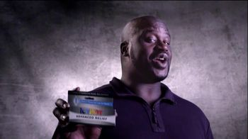 Icy Hot Advanced Relief Cream TV Spot, 'Shaq vs Pain'