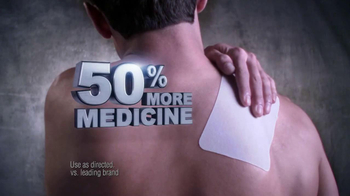 Icy Hot Advanced Relief Patch TV Spot, 'Shaq vs Pain' - Thumbnail 4