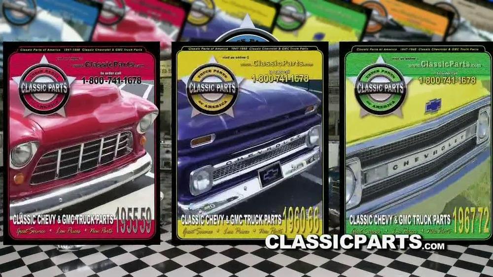 Classic Car Parts Catalog: Classic Parts Free Catalogs TV Commercial