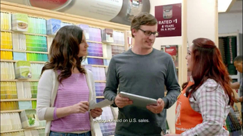 The Home Depot TV Spot, 'Paint Something' - 2384 commercial airings