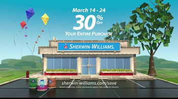 Sherwin-Williams Make It Mine Sale TV Spot, 'Stop By'