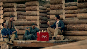 Coors Banquet TV Spot, \'Log Cabin\'