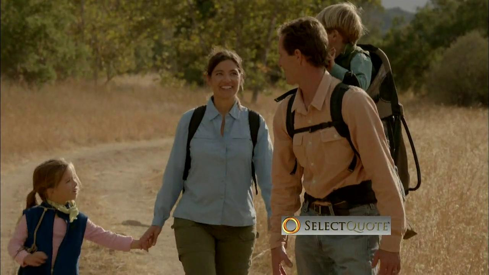 Select Quote TV Commercial, 'Family Hike'
