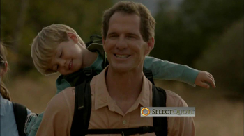 Select Quote TV Spot, 'Family Hike' - Thumbnail 1