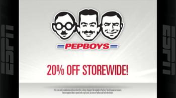 PepBoys 20% Off Storewide Sale TV Spot