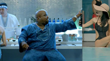 TY KU Sake Black TV Spot, 'Sharing' Featuring Cee-Lo Green - 133 commercial airings