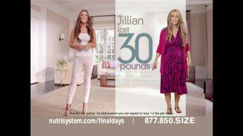 Nutrisystem Fresh Start Sales Event TV Spot Featuring Jillian Barberie - 34 commercial airings