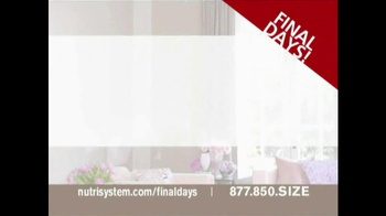 Nutrisystem Fresh Start Sales Event TV Spot Featuring Jillian Barberie - Thumbnail 1