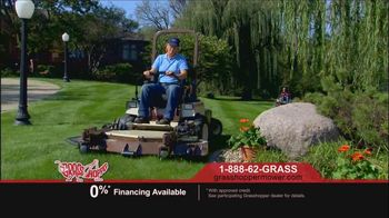 Grasshopper Mowers TV Spot