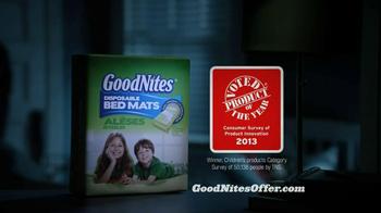 GoodNites Disposable Bed Mats TV Spot, 'Aquarium' - Thumbnail 5