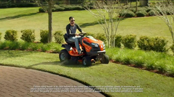 Lowe's TV Spot, 'Husqvarna Fast Tractor' Featuring Jimmie Johnson - Thumbnail 4