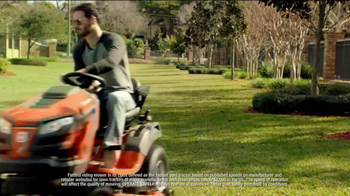 Lowe's TV Spot, 'Husqvarna Fast Tractor' Featuring Jimmie Johnson - Thumbnail 5