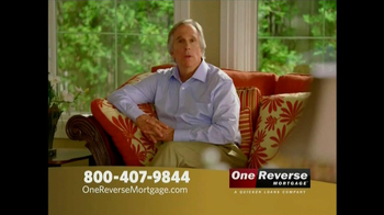 One Reverse Mortgage TV Spot, 'Retirement' Featuring Henry Winkler  - Thumbnail 1