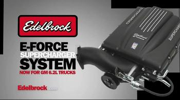 Edelbrock E-Force Supercharge System TV Spot, 'Big Truck Power' - Thumbnail 3