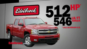 Edelbrock E-Force Supercharge System TV Spot, 'Big Truck Power'