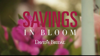 David's Bridal Savings In Bloom TV Spot - Thumbnail 2
