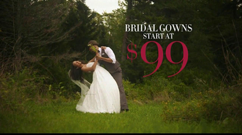 David's Bridal Savings In Bloom TV Spot - Thumbnail 5