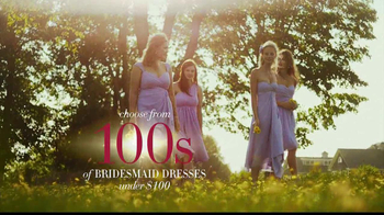 David's Bridal Savings In Bloom TV Spot - Thumbnail 7