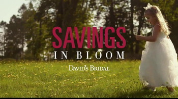 David's Bridal Savings In Bloom TV Spot - Thumbnail 8