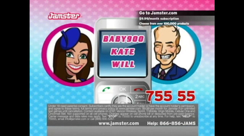 Jamster TV Spot, 'Baby Name Generator: Kate and Will' - Thumbnail 6