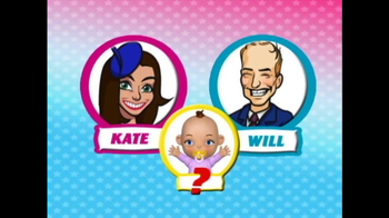 Jamster TV Spot, 'Baby Name Generator: Kate and Will'