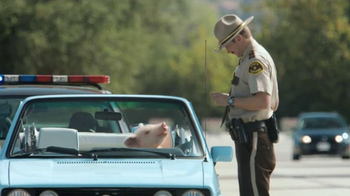 GEICO TV Spot, 'Maxwell the Piggy Gets Pulled Over' - Thumbnail 5