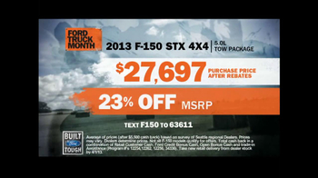 Ford Truck Month TV Spot, 'Tools' - Thumbnail 8