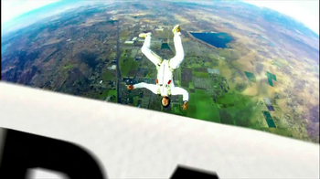Degree Deodorants TV Spot, 'More Motion = More Protection: Sky Diving'