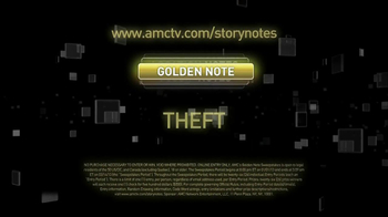 AMC Golden Note Sweepstakes TV Spot, 'Car Theft'