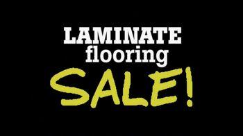Lumber Liquidators 'Laminate Flooring Sale' TV Spot