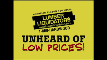 Lumber Liquidators 'Laminate Flooring Sale' TV Spot  - Thumbnail 1