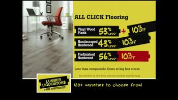 Lumber Liquidators 'Laminate Flooring Sale' TV Spot  - Thumbnail 5