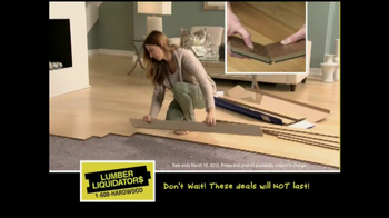 Lumber Liquidators 'Laminate Flooring Sale' TV Spot  - Thumbnail 6