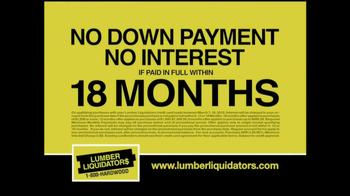 Lumber Liquidators 'Laminate Flooring Sale' TV Spot  - Thumbnail 7