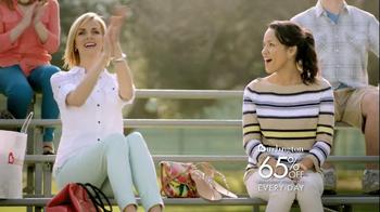 Burlington Coat Factory TV Spot, 'Soccer Game Bleachers' - Thumbnail 8