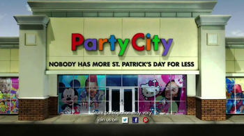Party City TV Spot, 'St. Patricks Day Party' - Thumbnail 9