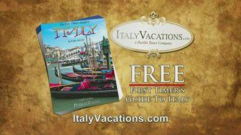 ItalyVacations.com TV Spot, 'Ciao' Featuring Steve Perillo