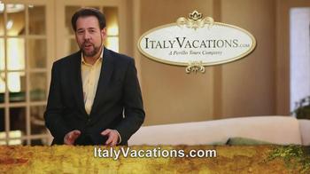 ItalyVacations.com TV Spot, 'Ciao' Featuring Steve Perillo - Thumbnail 3