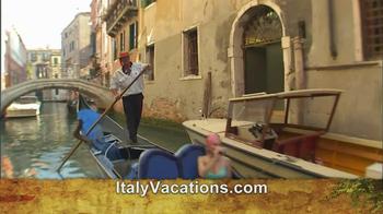 ItalyVacations.com TV Spot, 'Ciao' Featuring Steve Perillo - Thumbnail 4