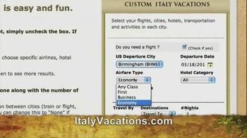 ItalyVacations.com TV Spot, 'Ciao' Featuring Steve Perillo - Thumbnail 7