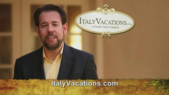 ItalyVacations.com TV Spot, 'Ciao' Featuring Steve Perillo - Thumbnail 8